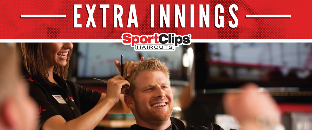 The Sport Clips Haircuts of River View @ Woodward Park Extra Innings Offerings